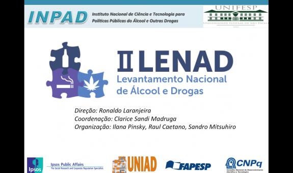 LENAD: O Consumo de Álcool no Brasil entre 2006 e 2012 -  Press Release dia 10/04